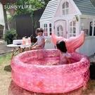 游泳池 澳洲嬰兒童家用游泳池寶寶遮陽充氣海洋球池戲水池 星河光年DF