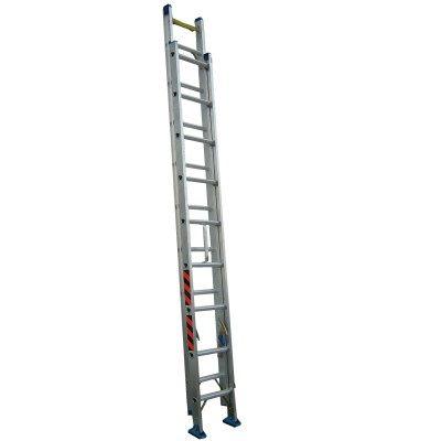 祥江鋁梯-雙節式伸縮拉梯12米
