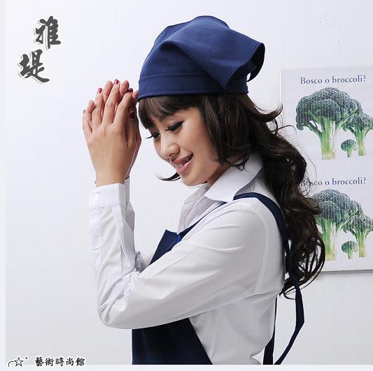 【T-02C】日式工作頭巾(丈青)-餐廳 廚房 園藝 工作業務專用