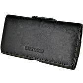 真皮系列 Sony Xperia T3 (D5103) 腰夾式/穿帶式 橫式手機皮套