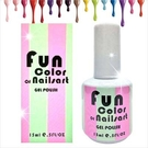 【美國原裝進口】Fun Color of Nailsart L-0006春夏光撩彩繪指甲油凝膠-15ml(61-80號) [48241]