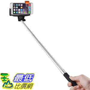 [美國直購] InnoGear I99 Selfie Stick Remote Button Shutter Samsung Galaxy Note iPhone Black 自拍桿