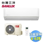 台灣三洋 SANLUX 時尚型冷暖變頻一對一分離式冷氣 SAC-V36HF / SAE-V36HF