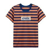『小鱷魚童裝』印花條紋T恤(10號~20號)533410
