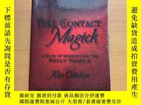 二手書博民逛書店FULL罕見CONTACT MAGICKY265546
