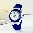 小學生防水指針式女童考試小孩兒童手錶只看時間男大童初中男童 3C數位百貨