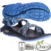 Chaco ZLW02_HE35尋蹤日蝕 女越野紓壓涼鞋-Z/Cloud2夾腳款 水陸兩用沙灘鞋織帶運動鞋