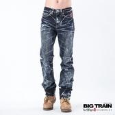 BIG TRAIN 惡童重水洗小直筒褲-男