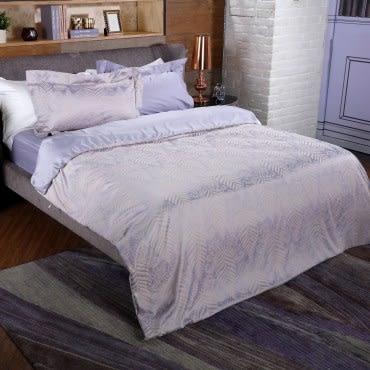 HOLA紫楓麻代爾緹花床包 加大