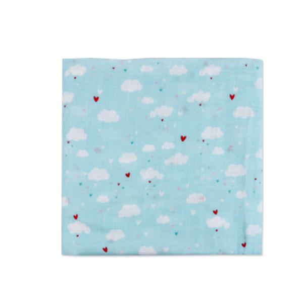 嬰兒紗布包巾蓋被-Muslintree雙層紗布包巾-JoyBaby