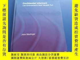 二手書博民逛書店CONFIDENTIAL罕見LNFORMANT【精裝 16開 3