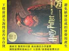 二手書博民逛書店哈利波特圖庫第五本英版harry罕見potter the film vault volume 5 creature