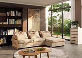 【新北大】✪ B211-1 蜜拉貝L型置物型沙發/布沙發(可拆洗.附抱枕3個)-18購