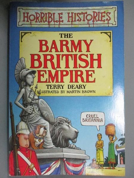 【書寶二手書T4/兒童文學_HNL】Horrible histories-The barmy British Empir
