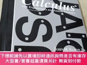 二手書博民逛書店Calculus罕見with Trigonometry and Analytic Geometry (second