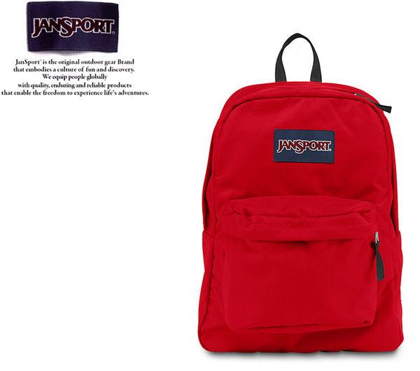 【橘子包包館】JANSPORT 後背包 SUPER BREAK JS-43501 磚紅