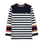 『小鱷魚童裝』跳色條紋T恤(08號~18號)532412