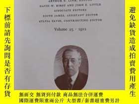 二手書博民逛書店the罕見papers of woodrow WilsonY33