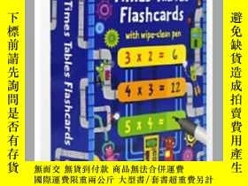 二手書博民逛書店Usborne罕見原版英文 Times Tables Flash