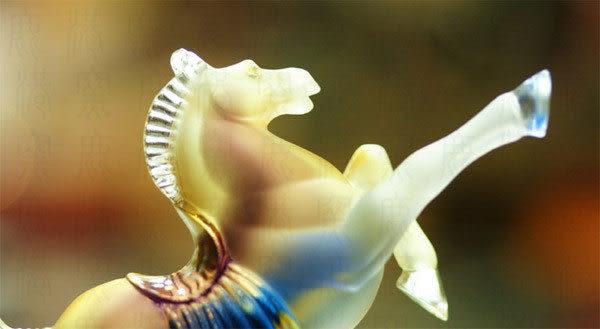 鹿港窯~居家開運水晶琉璃~壯志凌雲◆附精美包裝◆附古法制作珍藏保證卡◆免運費送到家