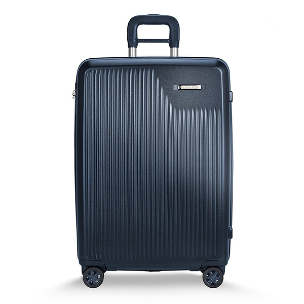 【專賣】SYMPATICO行李箱27吋(霧藍)+21吋(銀)+行李袋