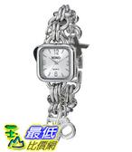 [美國直購] 女錶 XOXO Women s XO7026 Silver Dial Silver-tone Charm Bracelet Watch