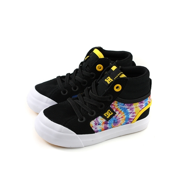 DC TODDLER'S EVAN HI SP 運動鞋 黑色 印花 小童 童鞋 ADTS300026-BK5 no146