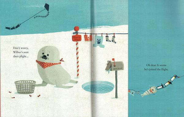 【幽默故事】BLOWN AWAY/硬頁書  ※ 2015年度 Waterstones的最佳童書選 ※ 店長推薦