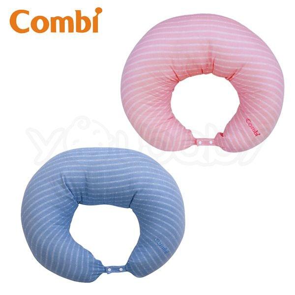 康貝 Combi 輕柔感和風紗多功能哺乳枕靠墊 /授乳枕.媽媽枕.樂活枕.育嬰枕
