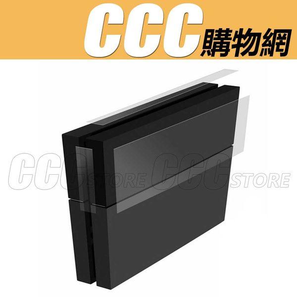 PS4 主機貼 機身貼 主機保護膜 高透膜 ps4透明保護膜 配件 3枚裝