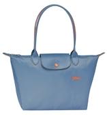 LONGCHAMP 2605 LE PLIAGE COLLECTION系列織物中號手提單肩包購物袋