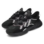 adidas 休閒鞋 Ozweego W 黑 灰 女鞋 老爹鞋 運動鞋 【PUMP306】 EG0553
