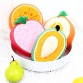 ✭慢思行✭【L002】3D立體菜瓜布洗澡刷 海綿刷 清潔刷 水果造型萬用洗滌 加厚泡棉