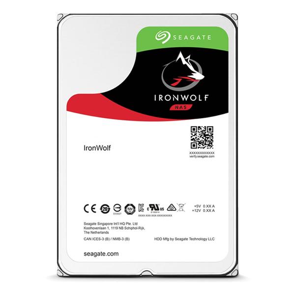Seagate 【IronWolf 那嘶狼】 4TB ST4000VN008 (3.5吋64M5900轉SATA3三年保) NAS 硬碟
