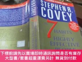 二手書博民逛書店The罕見7 Habits of Highly Effective People.Y19506 Stephen