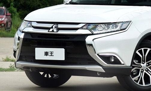 【車王小舖】三菱 Mitsubishi 2017 Outlander 日行燈 晝行燈 霧燈框安裝