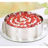 烘焙工具常用慕斯圈圓形可伸縮不銹鋼蛋糕模具6-12寸烤箱用WY 滿1元88折限時爆殺