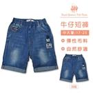 男童 牛仔短褲 [35471] RQ POLO 春夏 中大童 17-25碼 童裝 現貨