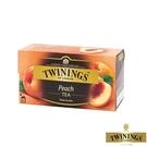 【TWININGS 唐寧】香甜蜜桃茶 Peach Tea 2gX25入(盒)
