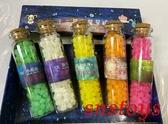 sns 古早味 進口食品 糖果 星星糖 十二星座星星糖 玻璃瓶星星糖 小瓶裝糖果 (5瓶x14公克)