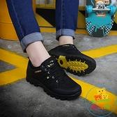戶外登山鞋男運動旅游鞋透氣徒步鞋防水耐磨輕便休閒爬山鞋【樂淘淘】