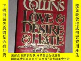 二手書博民逛書店英文原版罕見Love & Desire & Hate by Jo