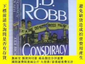 二手書博民逛書店Conspiracy罕見In Death【死亡陰謀,J.D.羅勃