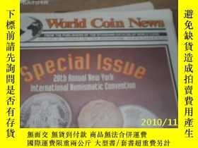 二手書博民逛書店World罕見Coin News(Vol.18,No.25)(D