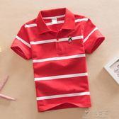 童裝男童短袖t恤純棉2018新款兒童夏裝中大童上衣寶寶半袖打底衫     俏女孩