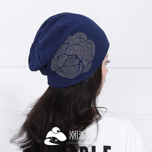 月子帽 產婦孕婦加厚保暖透氣產后套頭帽 潮流小鋪