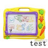 兒童畫畫板磁性寫字板寶寶嬰兒玩具1-3歲2幼兒彩色大號繪畫涂鴉板一件免運