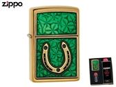【寧寧精品】Zippo 原廠授權台中30年旗艦店 防風打火機送精美禮盒組 純銅限量款幸運的象徵 4345-2
