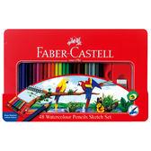 FABER-Castell 115939水性色鉛筆48色