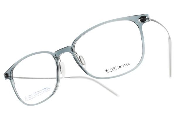 VYCOZ 光學眼鏡 MISTER NAV (透藍-槍) 植粹環保簡約鏡框 # 金橘眼鏡
